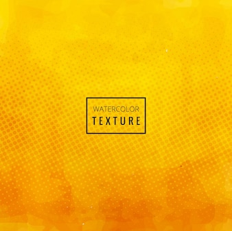 Yellow watercolor texture