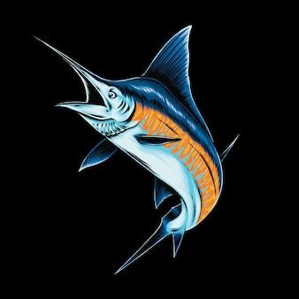 Yellowfin fish