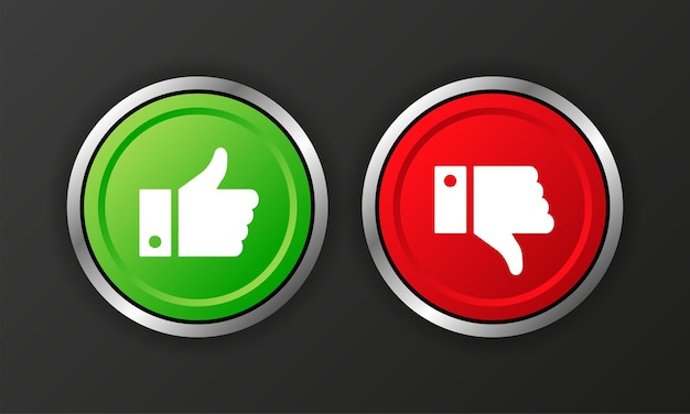 Yes and no check marks icon on white background