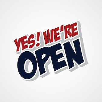 Yes we are open store