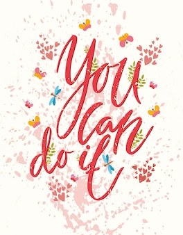 Yes you can do it greeting card