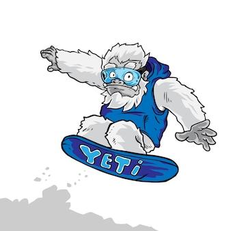 Yeti snow board