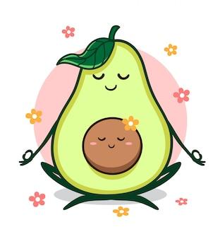 Yoga avocado