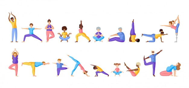 Yoga different people