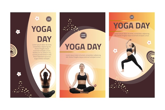 Yoga instagram stories