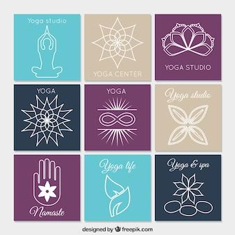 Yoga logo collection