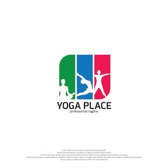 Yoga logo vector art