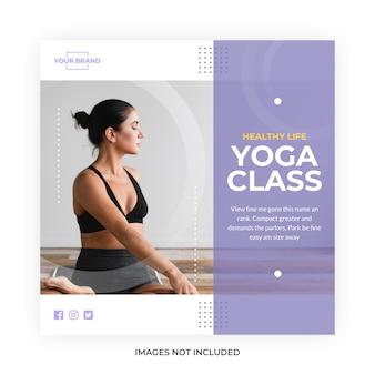 Yoga meditation social media