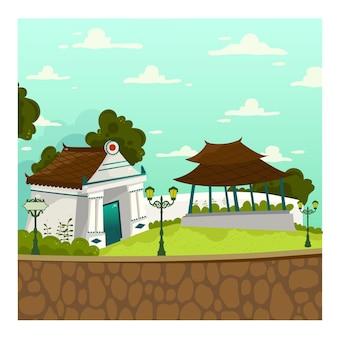 Yogyakarta landmark