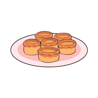 요크셔 푸딩은 영국의 전형적인 음식입니다