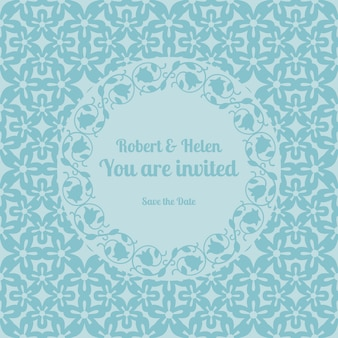 You are invited wedding card template