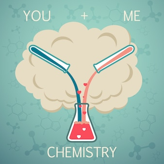 You and me it is chemistry