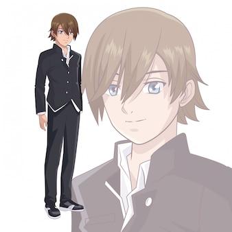 Young man manga anime