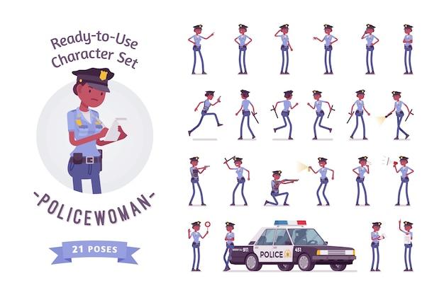 Набор персонажей для молодых полицейских