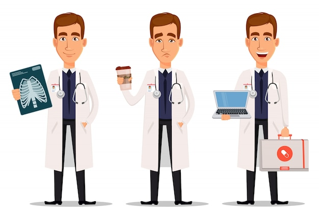 Young professional doctor
