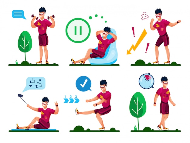 Youngportsman деятельность flat concept set