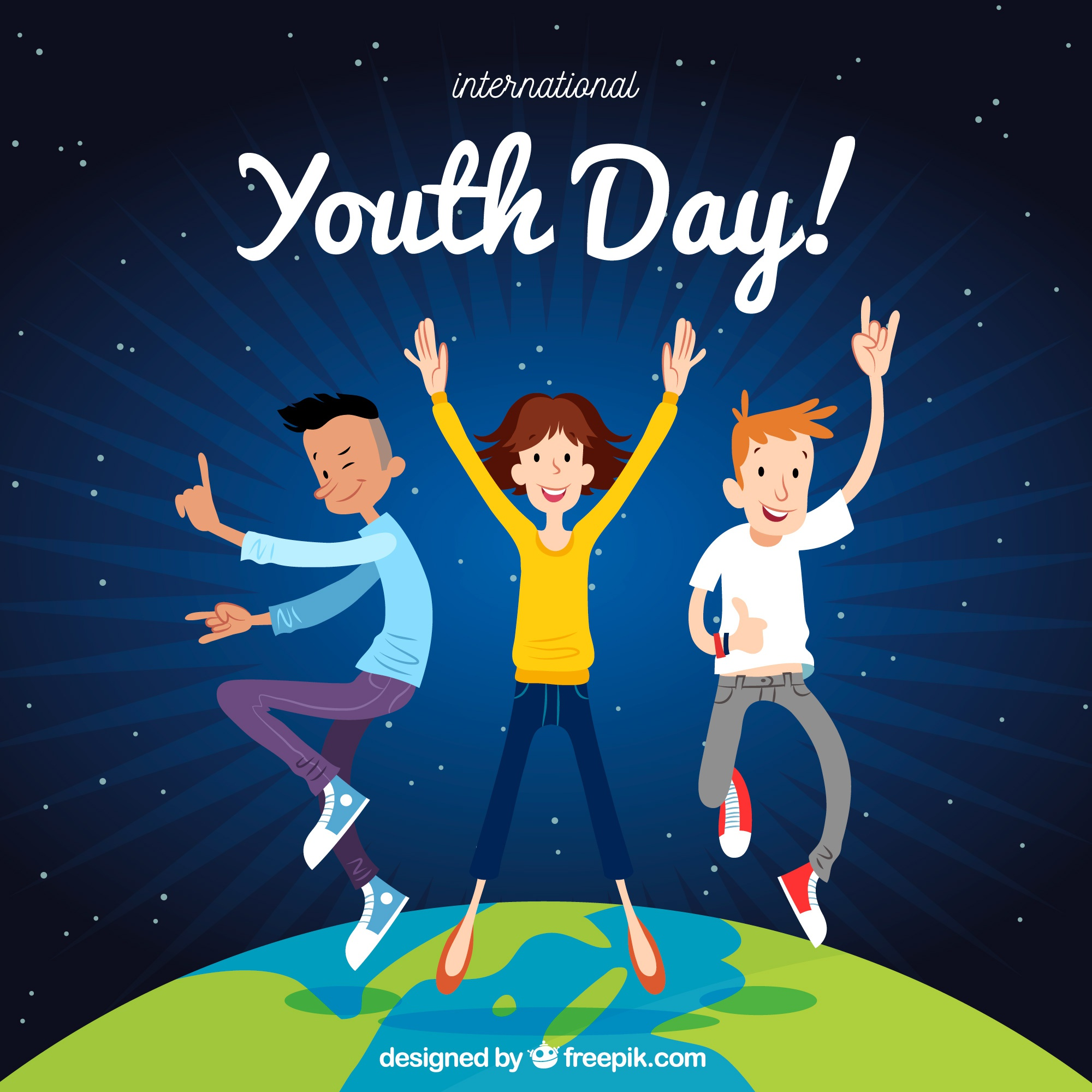 Youth day background