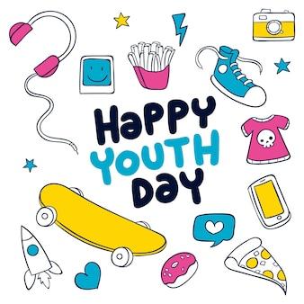 Giornata della gioventù con elementi