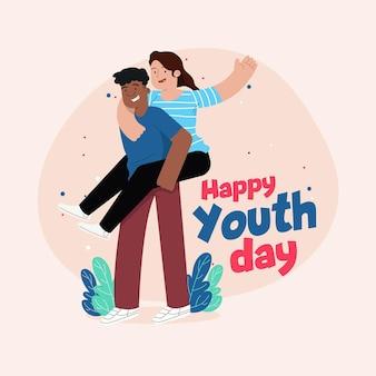 Giornata della gioventù con le persone