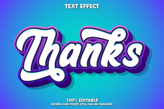 Youth style graffiti text effect