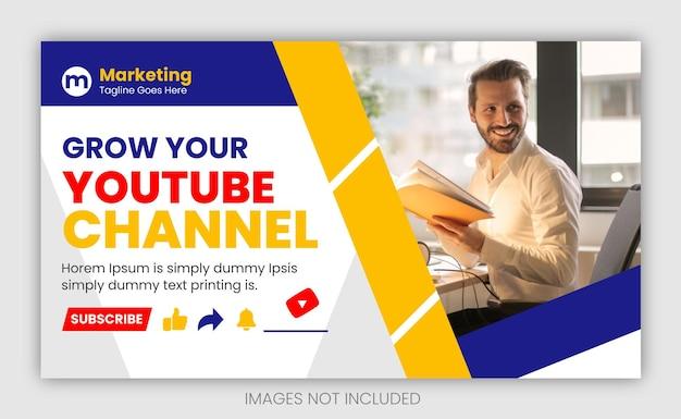 Миниатюра видео на youtube для новых бизнес-идей и развития вашего канала на youtube