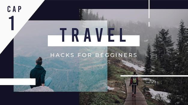 Миниатюра о путешествиях на youtube