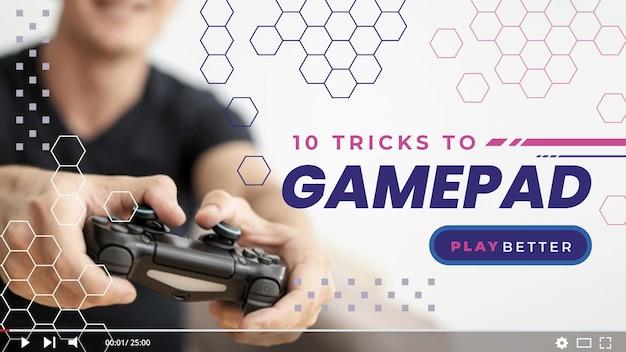 ビデオゲームyoutubeサムネイル
