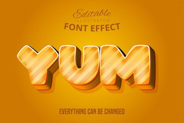 Text 텍스트, 편집 가능한 글꼴 효과
