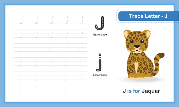 A-z animal hand writing practice book