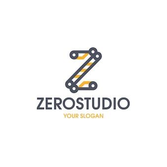 Ноль студия буква z логотип