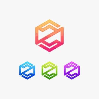 Z письмо логотип логотип бренда