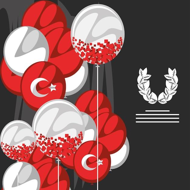 Zafer bayrami victory banner