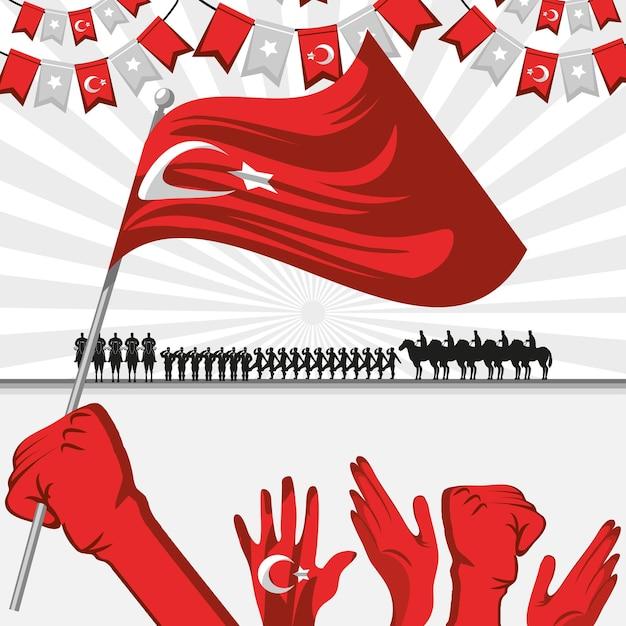 Zafer bayrami victory poster