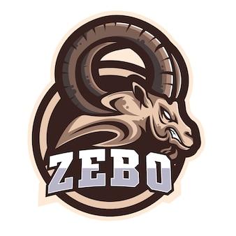 Zebo e sportsロゴ