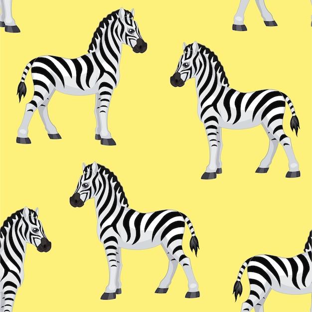 Zebra pattern.  seamless pattern.