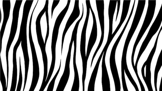 Фон печати зебры