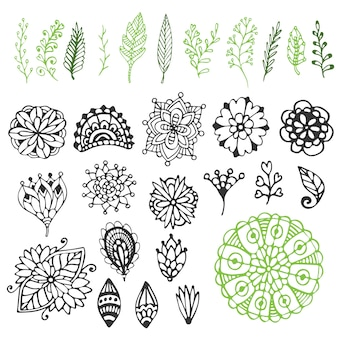 Zentangle nature collection