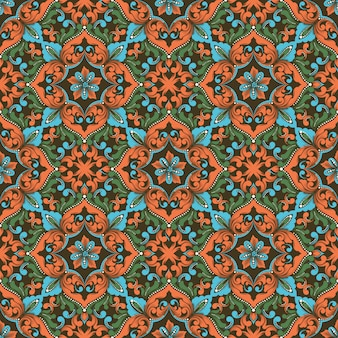 Zentangleシームレスパターン