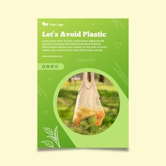 Poster modello rifiuti zero