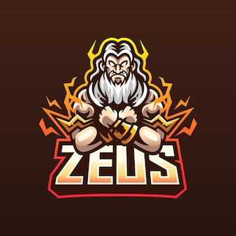 Zeus mascot for esport