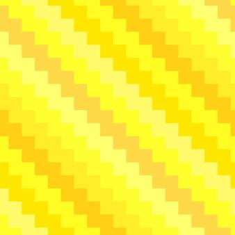 ジグザグカラフルなベクトルのシームレスなパターン。黄色のさまざまな色合いの斜めの縞模様の飾り