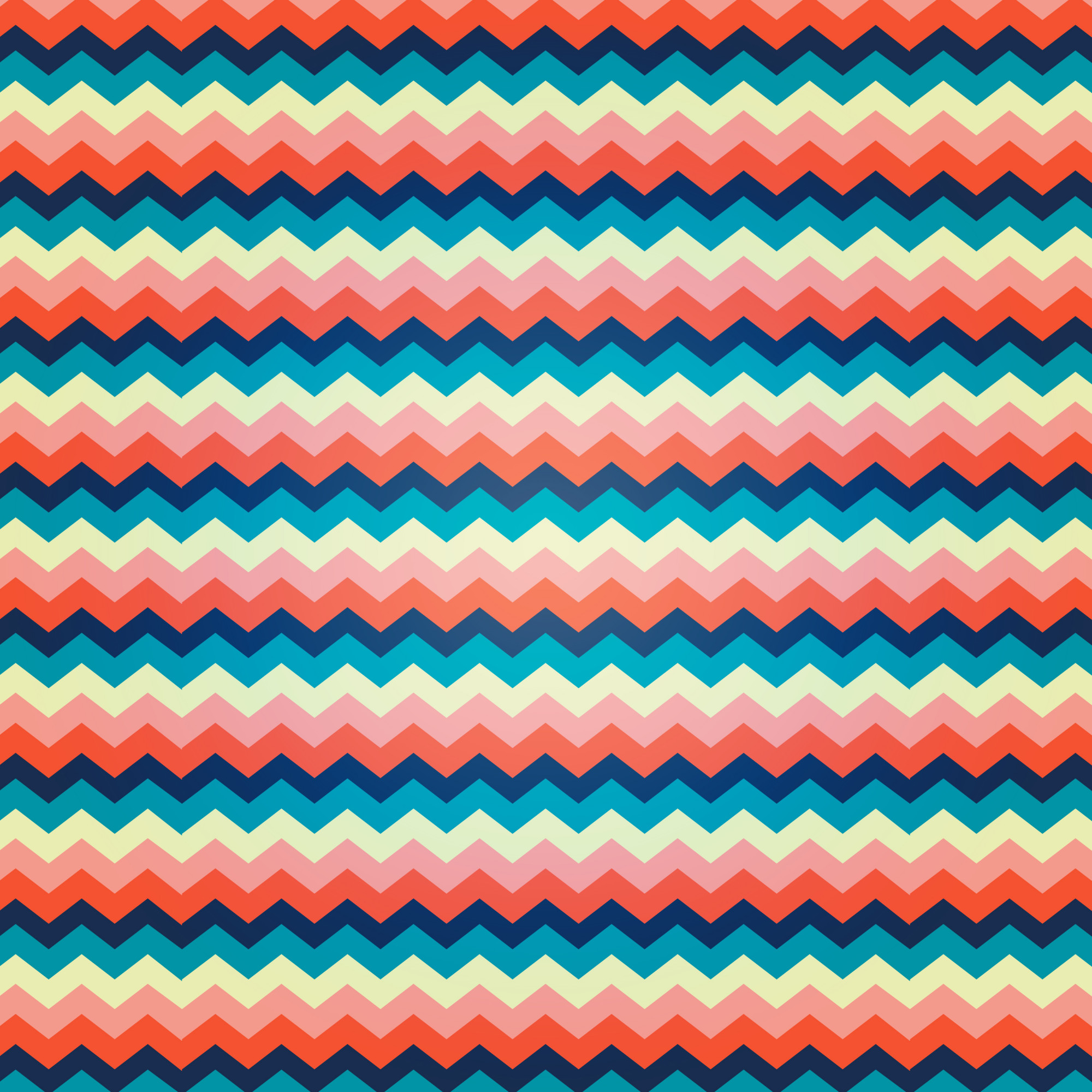Zig zag pattern with vibrant colors