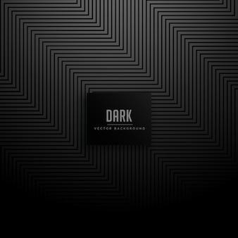 Zigzag diagonal lines pattern black dark background