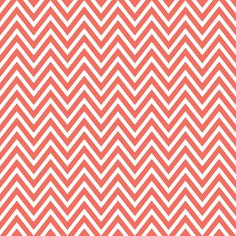 Living coral 컬러의 지그재그 패턴. 추상적인 기하학적 배경입니다. 2019년 올해의 컬러. 고급스럽고 우아한 스타일의 일러스트레이션