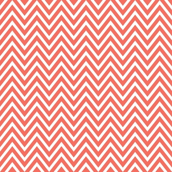 Zigzag pattern in living coral color. abstract geometric background. color of the year 2019. luxury and elegant style illustration