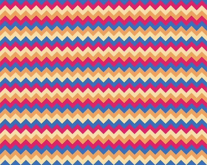 Zigzag pattern seamless. zig zag background color.