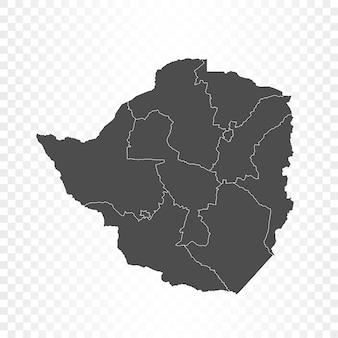 짐바브웨지도 격리 렌더링