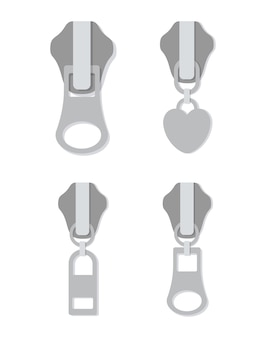 Zipper digital design