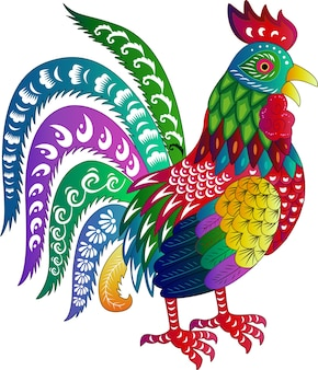 Zodiac Sign for Year of Rooster