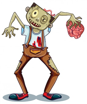 A zombie character